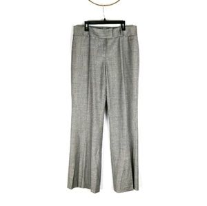 Antonio Melani wool blend wide leg trouser pants
